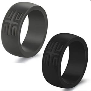 YesFit Silicone Ring Breathable Rubber 2 Pack